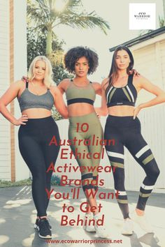 10 Australian Ethical Activewear Brands You'll Want to Get Behind - Eco Warrior Princess