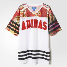 adidas Rita Ora Dragon Print Tee Dress | adidas UK #dress #adidas #women #celebrity #ritaora #covetme