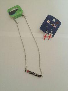 England Necklace&Earrings set
