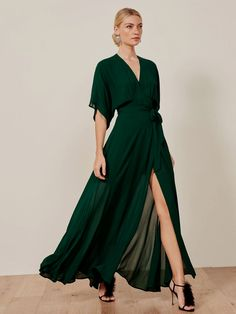 new ideas dress green outfit simple Modern Talking, Looks Party, Wrap Dress, Dress Up, Sheer Dress, Outfit Trends, Groom Dress, Beautiful Dresses, Evening Dresses