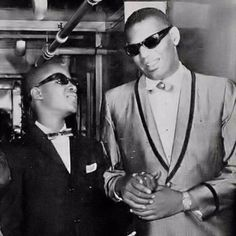 Stevie Wonder & Ray Charles