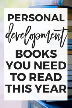 9 Personal Development Books to Read This Year - Erin Gobler - Lilly Love Reading, Reading Lists, Book Lists, Good Books, Books To Read, Highly Effective People, Personal Development Books, Learning Techniques, Life Motivation