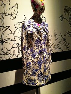 Gucci flora trench coat