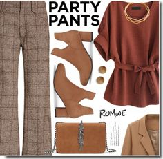 #PolyPresents: Fancy Pants - Simple Outfit Ideas