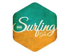 Logo  badge - Surfing for Girls