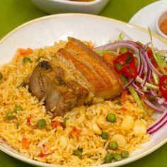 Chefs, Peruvian Recipes, Spanish Food, Spanish Recipes, My Cookbook, One Pot Meals, Deli, Bon Appetit, Yummy Food