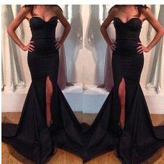 $26.00 | Sexy sleeveless black dress OP0108BC