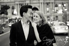 Downtown Philadelphia City Hall Engagement Session, Urban Center City, Hannah Chen Photography, www.hannahchenphotography.com