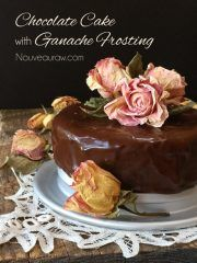 Sunfired raw food recipes from dr aris latham optimal well free flourless chocolate cake with ganache frosting raw vegan gluten forumfinder Choice Image