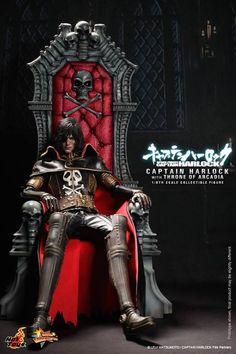 Hot Toys : Captain Harlock with Throne of Arcadia #Albator