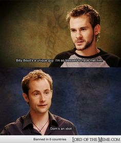 hahaha Merry and Pippin