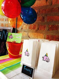 Nyan cat swag bags!