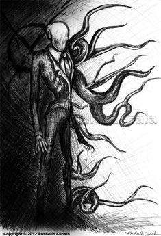 Slender Man by TheDragonofDoom.deviantart.com