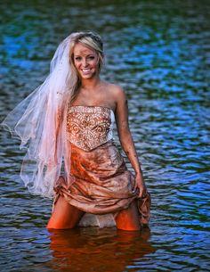 Trash the dress!