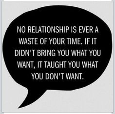 AND THAT IS WHY LADIES AND GENTLEMEN, WHY I HAVE HAD THE OLD, BAD, BROKEN RELATIONSHIPS.