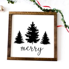Looking for for pictures for farmhouse christmas decor? Browse around this site for amazing farmhouse christmas decor pictures. This specific farmhouse christmas decor ideas seems to be absolutely excellent. Christmas Canvas, Christmas Signs Wood, Holiday Signs, Christmas Projects, Holiday Crafts, Diy Christmas Art, Christmas Trees, Xmas, Tree Decorations