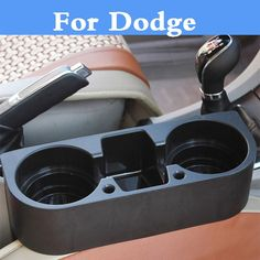 Car Interior Drink Beverage Seat Wedge Cup Holder Accessories For Dodge Avenger Caliber Challenger Charger Dart Durango