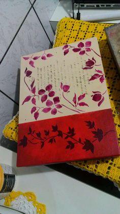 Mdf, Vermelha, flores