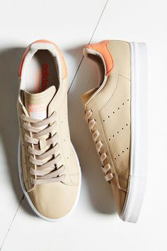 425eb4df38be adidas Originals Stan Smith Vulc Sneaker - Urban Outfitters Tan Shoes