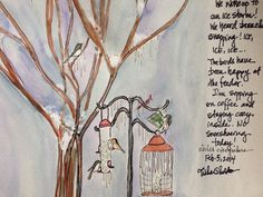 Sketching Winter, Tisha Sheldon