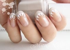Sand tips with white dots
