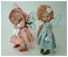enaidsworld: Fairy puppets: