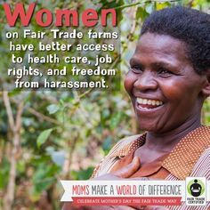 Women around the globe are changing the world through #FairTrade. Thank you for supporting them! http://BeFair.org/ #FairMoms #MothersDay #moms #women #womensempowerment