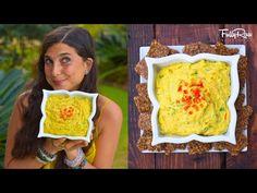 FullyRaw Vegan Chilé con Queso! - YouTube