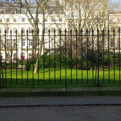 Fitzroy Square in Fitzrovia, Greater London