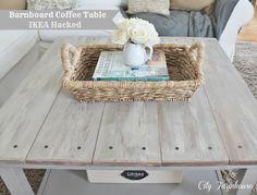 Ikea Hacked coffee table