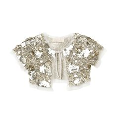 Razzle dazzle 'em with our glitzy Starlet Capelet! It looks sensational over a simple white tee and leggings or paired with one of our tutu skirts or dresses. www.tutudumonde.com