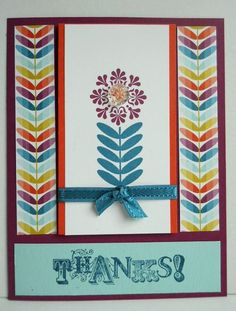 Madison Avenue Multi by stampcandy - Cards and Paper Crafts at Splitcoaststampers Sycamore Street, Scrapbook Templates, Scrapbooking Ideas, Paper Crafts, Diy Crafts, Madison Avenue, Stamping Up, Cool Cards, Flower Cards