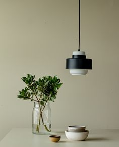 Lento lamp hang comfortably on its own and works beautifully in groups.
