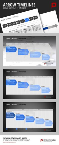 Project management gantt chart made in powerpoint with office powerpoint timeline template for projects ccuart Gallery