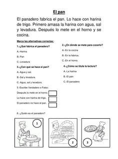 #ClippedOnIssuu from EL PAN:COMPRENSION LECTORA PARA EL SEGUNDO GRADO DE PRIMARIA