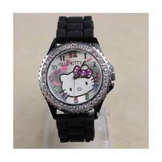 5524ff550 New Lovely Fashion Hello Kitty watches Girls Ladies Wrist Watch WKT@TLJ574B Hello  Kitty,