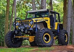 badazzgear:  In the Woods w/ a Yellow Jeep Tactical Hats, Patches and Flags