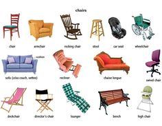Illness vocabulary learn english visual vocabulary for Chaise dictionary