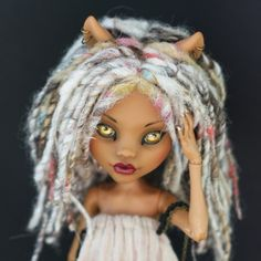 Jayanti OOAK Monster High Clawdeen Custom Repaint Reroot by Pomme Pomme | eBay