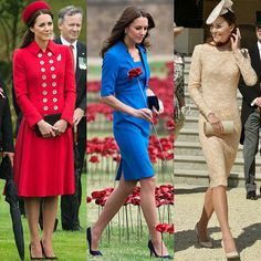 Kate Middleton had mastered the art of coordination.