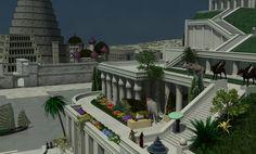 Babylon garden by merlintintin.deviantart.com on @DeviantArt