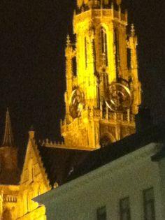 de grote kerk in Antwerpen. hier was ik 2 jaar geleden tijdens de kerst met me familie. wat een uitzicht!