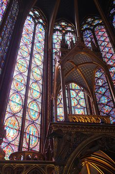 Sainte Chapelle Stained Glass | Sainte-Chapelle | Flickr - Photo Sharing!