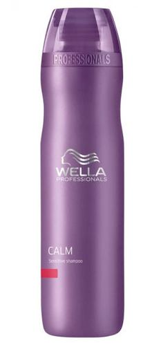 Wella Calm Sensitive Shampoo - Fragrance-free. Soothing shampoo for sensitive, irritated scalps. Available @ Salon Hair Care (Mississauga, ON) and at salons in Canada that sell Wella products. #unscented #scentfree #fragrancefree