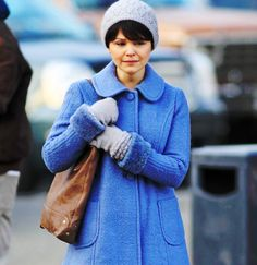 Mary Margaret's Coat and Beret