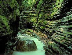 Un rincón del barranco de Furco. Broto, Pirineos Spain by Valentín Zapater