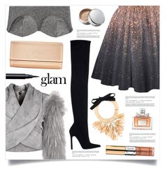 """Go Glam"" by marina-volaric ❤ liked on Polyvore featuring Balmain, NIGHTMARKET, Naeem Khan, Chantecaille, Christian Dior, NARS Cosmetics, Zara and goglam"