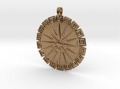 Vergina Sun Pendant Jewelry Symbol