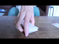 Playing with a deck of cards. ASMR http://www.youtube.com/missmindbuzz
