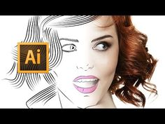 Adobe Illustrator CC - Line Art Tutorial - Tips, Tricks & Shortcuts - YouTube